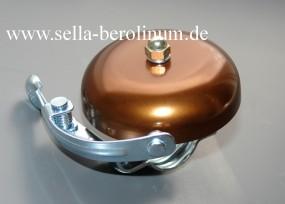 Rennglocke Alu bronze eloxiert 55 mm