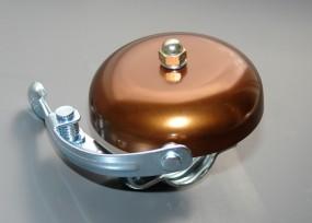 Rennglocke Alu bronze eloxiert 55mm