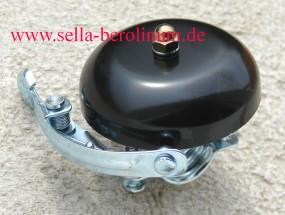 Rennglocke Alu schwarz eloxiert 55 mm