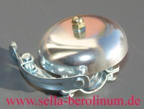 Rennglocke Alu silber eloxiert 55 mm