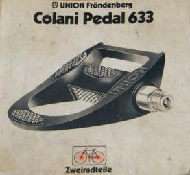 Union 633 Pedale Neuware aus den 1970igern