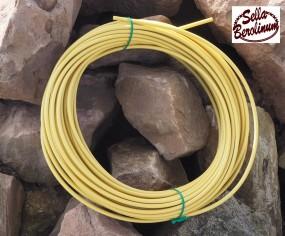 Bremszug Hülle 5 mm sahara beige 2,5 m Rolle