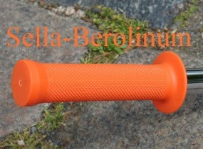 BMX Griff orange 130 mm, 1 Paar
