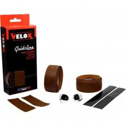 Velox Lenkerband gelocht - marron