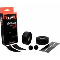 Velox Lenkerband gelocht - schwarz