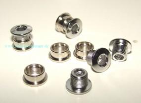 Kettenblattschrauben Stahl f.Single 5 mm / 5 mm - 25101 ∅ 9,9 mm