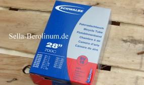 700 C Schwalbe SV 15 / 40 mm Ventil Schlauch 18 - 28 mm