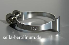 Tektro 1502- 1 Casing Clip für 25,4mm Rohre silber