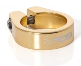 34,9 mm XLC Sattelschelle Alu gold