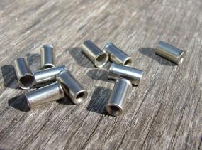 4 mm Endhülsen verchromt, 1 Stck.